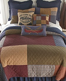 Lakehouse Cotton Quilt Collection, Queen