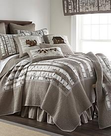 Birch Forest Cotton Quilt Collection, Queen