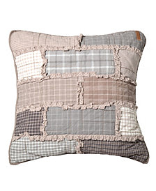 Smoky Cobblestone Decorative Pillow