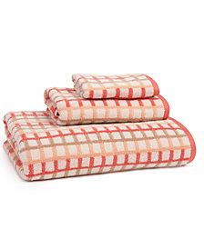 Provence Check 3 Piece Towel Set