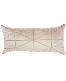 Inspire Me! Home Décor Criss Cross Beige Throw Pillow