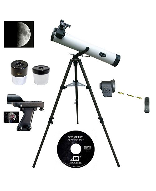 Cosmo Brands Cassini 800mm X 80mm Astronomical Tracker Reflector Telescope with Electronic Remote Focus