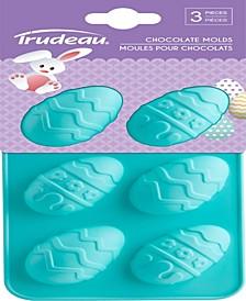 Trudeau Eggs Chocolate Molds
