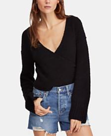 Free People Sensual Wrap Sweater