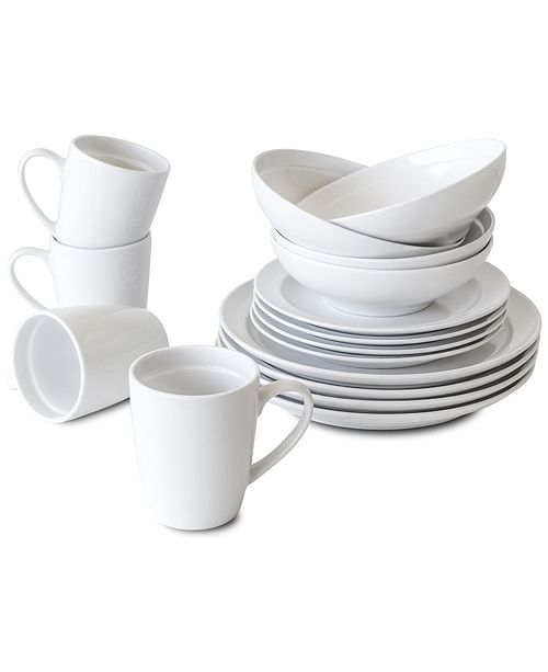 Over and Back Tabla 16 Piece Dinnerware Set