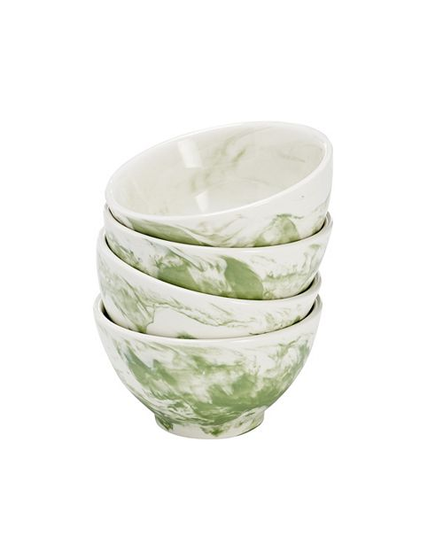 Over and Back Swirl Bowls - Set Of 4