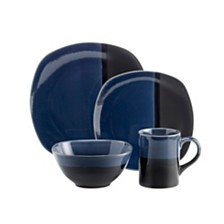 Over and Back Montego 16 Piece Dinnerware Set