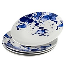 Over and Back Splash Dinner Plates