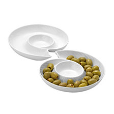 Spiral Shell Plate, Set Of 2