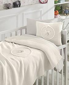 Teddy Premium 6 Piece Crib Bedding Set