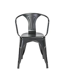 Corsair Stacking Arm Chair - Set Of 4