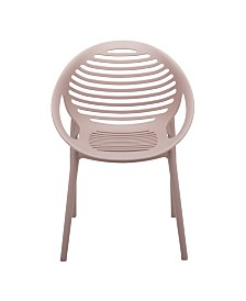 Lima Stacking Arm Chair in Polypropylene - Set Of 4