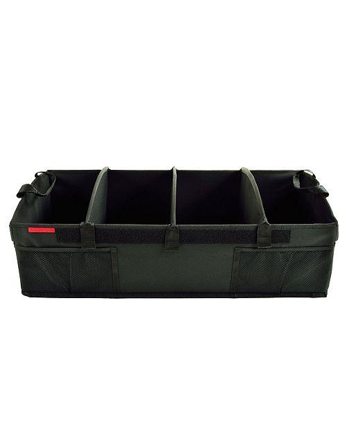 Picnic At Ascot Heavy Duty Trunk Organizer -No Slide Rigid Base-70 pound Capacity