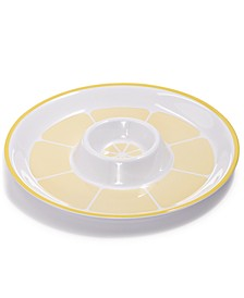Citrus Melamine Chip & Dip Tray, Created for Macy's