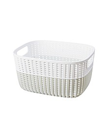 2-Tone Decorative Small Storage Basket