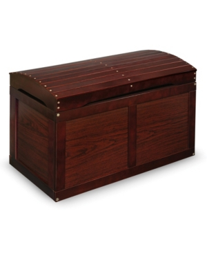 Badger Basket Hardwood Barrel Top Toy Chest