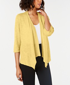 9c9a7579d96 Yellow Short Sleeve Cardigans: Shop Short Sleeve Cardigans - Macy's