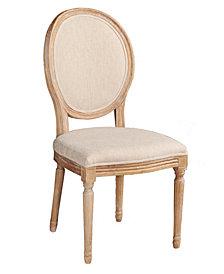 Avalon Oval Back Chair