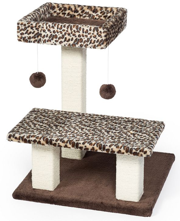 Prevue Pet Products Kitty Power Paws Leopard Terrace 7300