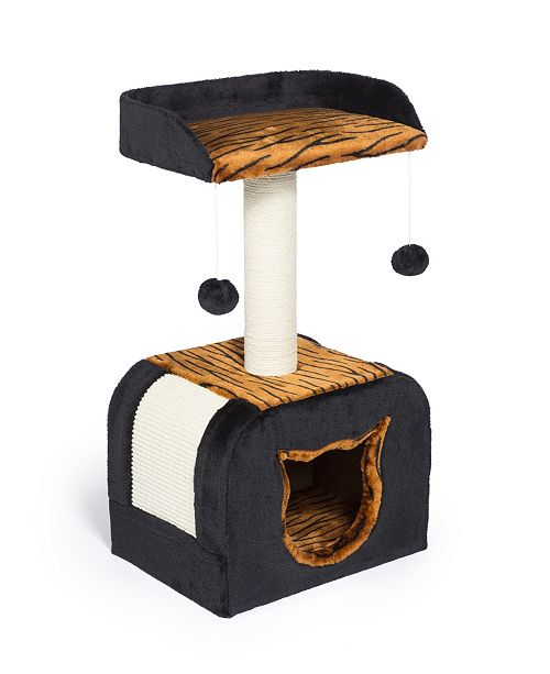 Prevue Pet Products Kitty Power Paws Tiger Hideaway 7305