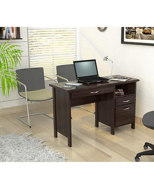 Inval America Soft Form Computer Desk