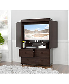 Inval America Armoire/AV Video Combo