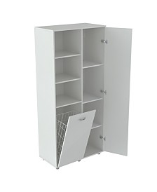 Inval America Utility Storage Cabinet with Tilt Bin