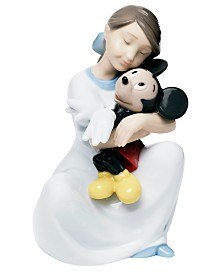 Nao by Lladro I Love You Mickey Mouse Collectible Disney Figurine