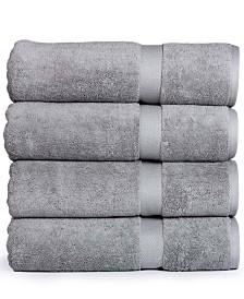 Madhvi Collection Premium Cotton Oversized 800 GSM Bath Towels (4 Pack)