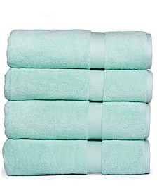 Madhvi Collection Premium Cotton Oversized 800 GSM Bath Towels (4 Pack)