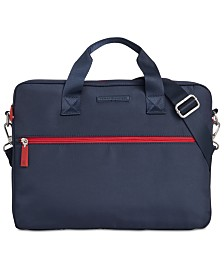 Tommy Hilfiger Men's Alexander Slim Briefcase