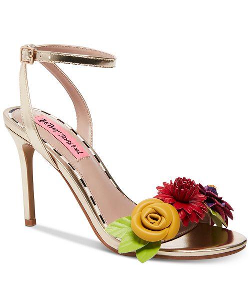 Betsey Johnson Fluer Dress Sandals