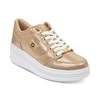 Deals on G by GUESS Rigster Wedge Sneakers