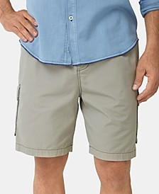 "Men's Survivalist Elastic Waist 8"" Cargo Short, Created for Macy's"