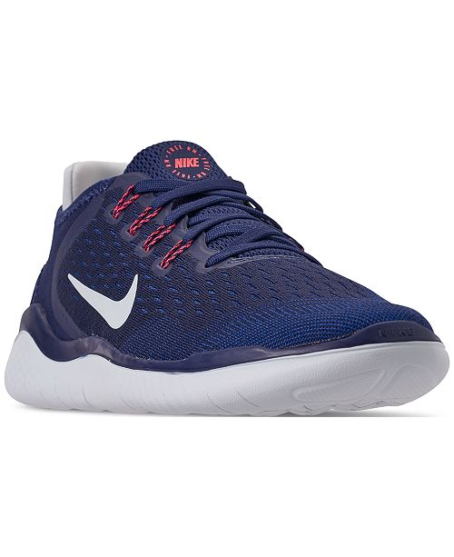 low priced d4f8b 1a1cd Nike Women s Free Run 2018 Running Sneakers from Finish Line ...