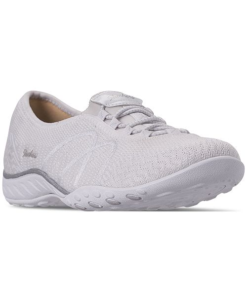 Skechers Women's Relaxed Fit: Breathe Easy - Sweet Jam Casual Sneakers from Finish Line
