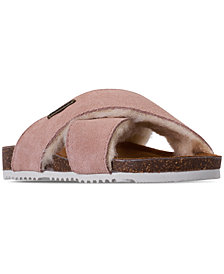 Bearpaw Little Girls' Britton Youth Flip Flop Sandals from Finish Line