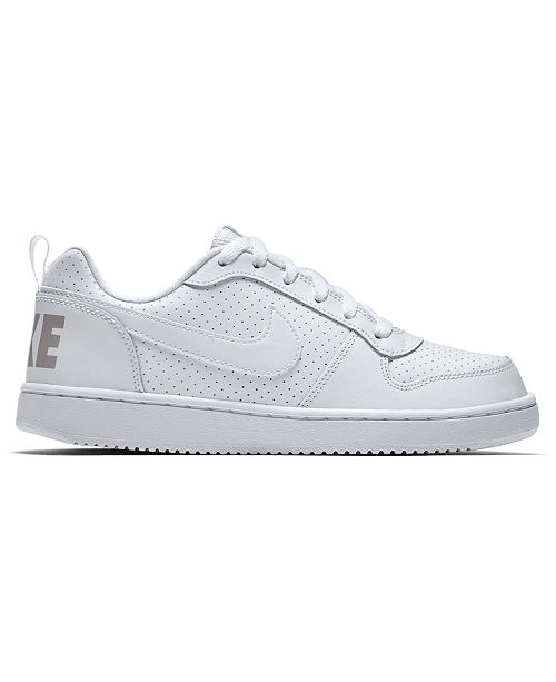 e852429208cb ... Nike Boys  Court Borough Low Casual Sneakers from Finish Line ...