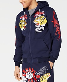 Reason Men's Ace Hooded Track Jacket