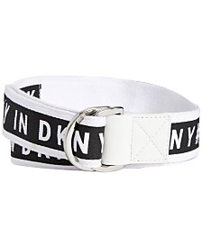 DKNY Grosgrain Pull-Through Belt, Created for Macy's