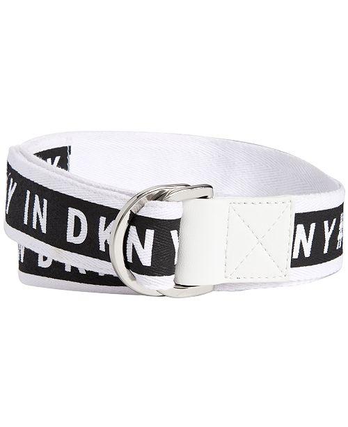 DKNY Grosgrain Pull-Through Belt, Created for Macy's