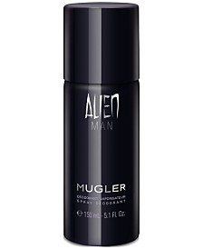 Mugler Men's ALIEN MAN Spray Deodorant, 5.1-oz. , Created for Macy's!