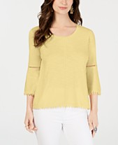b2a43e51fea5d bell sleeve tops - Shop for and Buy bell sleeve tops Online - Macy s
