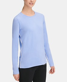 DKNY Sport Long-Sleeve Top, Created for Macy's