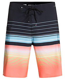 """Quiksilver Men's Highline Swell Vision Striped 20"""" Boardshorts"""