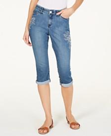 Lee Platinum Petite Flex Motion Capri Jeans
