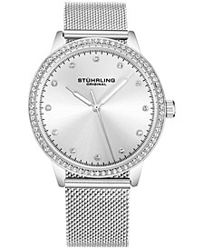 Original Women's Silver Case and Mesh Bracelet, Silver Dial Watch
