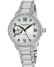 Stuhrling Original Women's Automatic, Stainless Steel Bracelet Watch