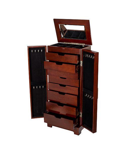Lynwood Wooden Jewelry Armoire