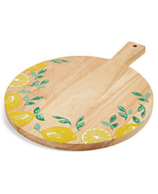 Martha Stewart Collection Citrus Cutting Board, Created for Macy's
